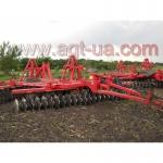 Услуги по обработке земли, вспашка, дисковка, культивация