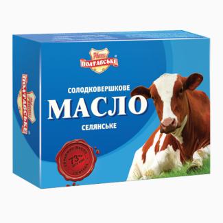 Масло сливочное оптом от производителя – монолит, фасовка