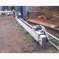 Ленточный скребковый конвейер (транспортер)