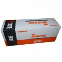 ГИЛЬЗЫ для сигарет MAGNUS(LONG полный фильтр 22 мм) 500 шт - 60 грн
