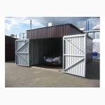 Продажа ремонт покраска изготовление сборка гаражей в короткие сроки Днепр и обла