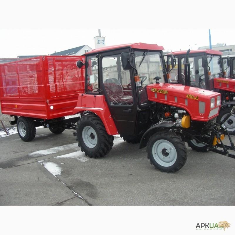 Трактор МТЗ-82 Беларус - технические характеристики.