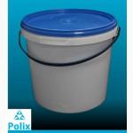 Продам ведра пластиковые, пищевые, белые, 5л