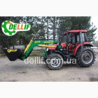 Погрузчик на трактор - кун Деллиф Супер Стронг 2000 с ковшом 1 м3
