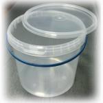 Продам ведра пластиковые, пищевые, прозрачные, 5л