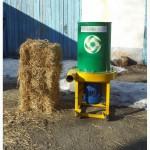 Соломорезка, измельчитель соломы, стебла кукурузы, очерета (500кг.час)