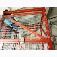 Шахтный электрический складской подъёмник-лифт г/п 1 тонна, 1000 кг. под заказ. Монтаж