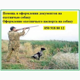 Регистрируем собак с выдачей охотничьего паспорта, Харьков