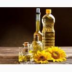 Продам на экспорт Украинское подсолнечное масло наливом и бутылированное 1л и 5 л