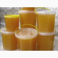 Продам мед со своей пасеки гречка-разнотравье 5л.ведерки