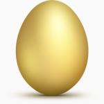 Яйце інкубаційе курине Адлер сріблястий