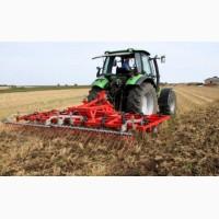 Услуги трактора для обработки земли: пахота, культивация, дисковка и др