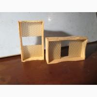 Рамка для сотового меда с вощиной
