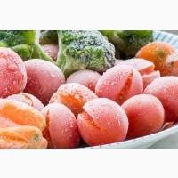 Виконуємо шокову заморозку овочей та фруктів