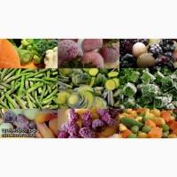 Потрібна шокова заморозка овочей та фруктів
