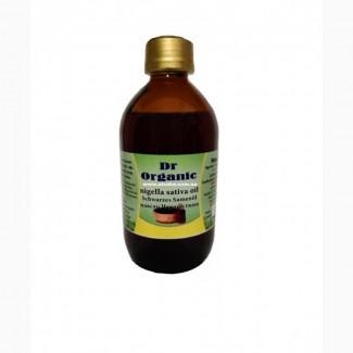 Масло черного тмина Nigella Sativa Dr. Organic 300 мл. Египет