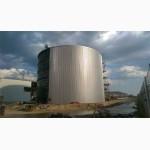 Резервуар вертикальный стальной РВС-5000м3 м.куб. из нержавеющей стали от производителя