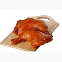 Курица копченая, а также крылья голени грудки желудки сердца окорока