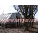 Продаю шатровый демонтированный ангар 25*12