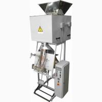 Фасовочно-упаковочный полуавтомат (автомат) дозатор для сыпучих (30г - 50кг)