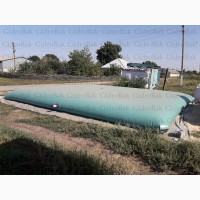 Гибкие резервуары для хранения КАС на 100 м3