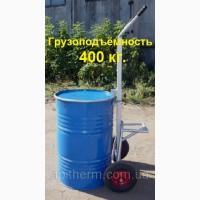 Бочковоз - тележка для бочки с мёдом. на 400 кг. Усиленная. Колёса (докатка)
