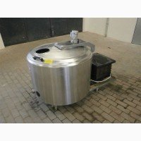 Молокоохолоджувач Б/У ALFA LAVAL 430 открытого типа объёмом 430 литров