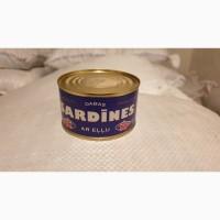 Продам натуральную сардину с добавлением масла 240 г ГОСТ