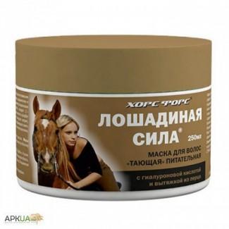 Маска для волос «Тающая» питательная «Лошадиная сила»