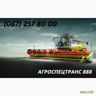 Уборка сельхозкультур комбайнами ведущих брендов