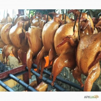 Мясо перепела свежее и холодного копчения
