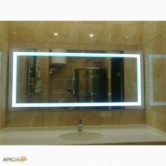 Зеркало для ванной комнаты со светодиодной подсветкой