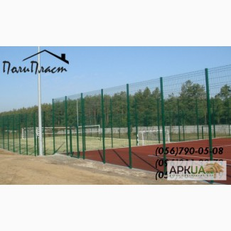 Забор из сварной сетки с полимерным покрытием