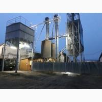 Услуги сушки и очистки зерна
