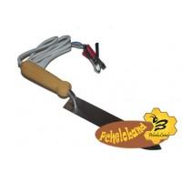 Нож пасечника из нержавеющей стали с электроподогревом Гуслия