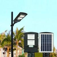 Уличный фонарь на солнечных батареях с датчиком движения, светильник