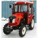 Продам Мини-трактор Dongfeng-244C (Донгфенг-244C) с кабиной красный