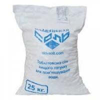 Соль таблетированная, Славянск, в мешках 25 кг