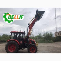 Быстросъёмный фронтальный погрузчик КУН на трактор МТЗ