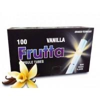 НОВИНКА ГИЛЬЗЫ для сигарет FRUTTA с капсулой(ваниль) 100 шт - 60 грн
