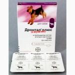 Дронтал Плюс таблетки со вкусом мяса для собак 33грн/табл