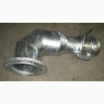 Отводы стальные и соединитель для плоских рукавов типа FLAT