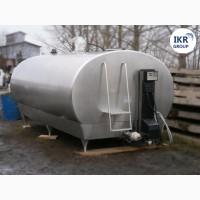 Танк охладитель молока Б/У DELAVAL 10000 закрытого типа объемом 10000 литров