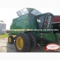 Из США - б/у Комбайн Зерновой John Deere 9610 наработка (двигатель/сепаратор) - 4505/3222