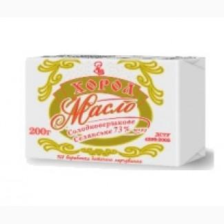 Продам масло солодковершкове селянське 73, 0%, масло солодковершкове 82, 5%.ДСТУ 4399-2005