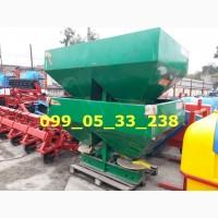 Самый популярный Разбрасыватель минеральных удобрений МВД-1200 кг усиленный МВУ