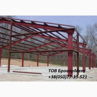 Услуги по демонтажу, монтажу и строительству металлоконструкций