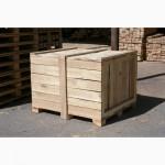Ящики крупногабаритные, контейнеры деревянные