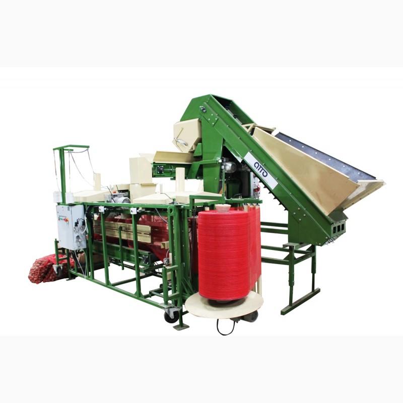 Фото 2. Фасовка картофеля оборудование, фасовка овоще в сетки, упаковка картофеля оборудование
