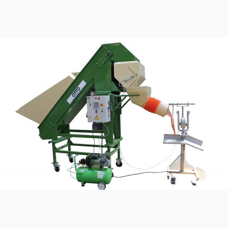 Фото 4. Фасовка картофеля оборудование, фасовка овоще в сетки, упаковка картофеля оборудование